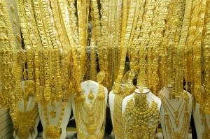 Souk de l'or à Dubai